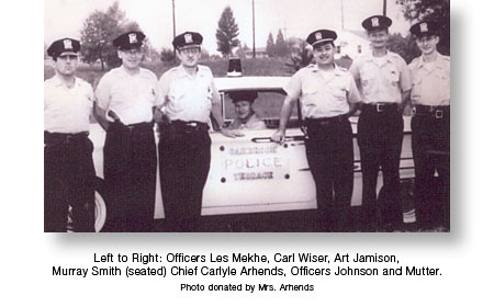 Oakbrook Terrace Police Force - c. 1961